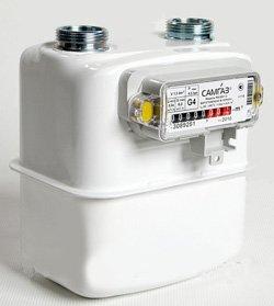 Счетчик газа бытовой