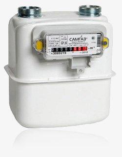 Купить газовый счетчик Самгаз G 1.6