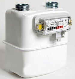 Купить счетчик газ Самгаз G4